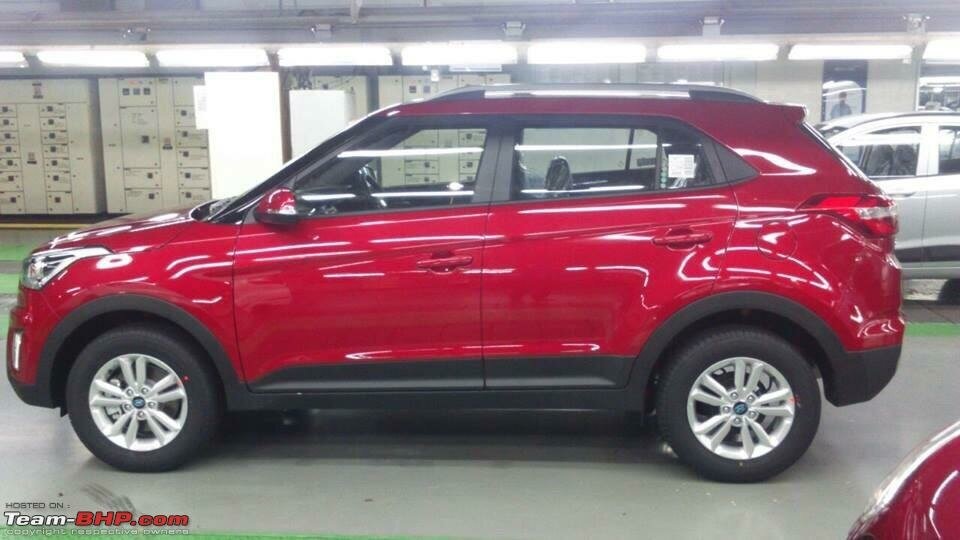 Клуб Hyundai Creta | Форум CretaClub.Ru | Фото: Hyundai-Creta-side-view-red-production-spec-for-India.jpg